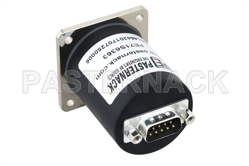 SP4T Electromechanical Relay Normally Open Switch, DC to 18 GHz, up to 90W, 12V, SMA