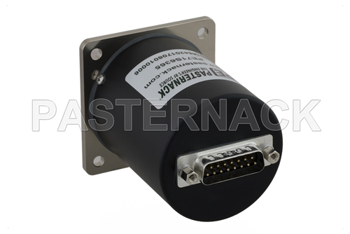SP4T Electromechanical Relay Latching Switch, Terminated, DC to 18 GHz, up to 90W, 28V, SMA