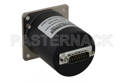 SP4T Electromechanical Relay Normally Open Switch, Terminated, DC to 18 GHz, up to 90W, 12V, SMA