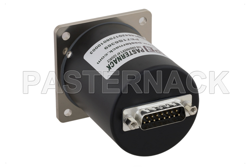 SP4T Electromechanical Relay Normally Open Switch, Terminated, DC to 18 GHz, up to 90W, 28V, SMA