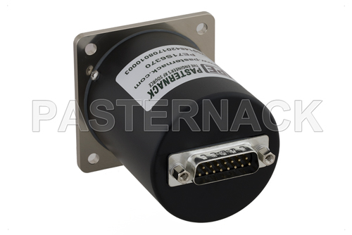SP4T Electromechanical Relay Normally Open Switch, Terminated, DC to 26.5 GHz, up to 90W, 12V, SMA