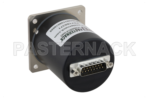 SP4T Electromechanical Relay Normally Open Switch, Terminated, DC to 26.5 GHz, up to 90W, 28V, SMA