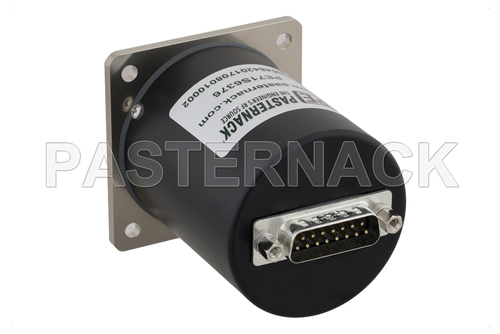 SP6T Electromechanical Relay Latching Switch, Terminated, DC to 18 GHz, up to 90W, 12V, SMA