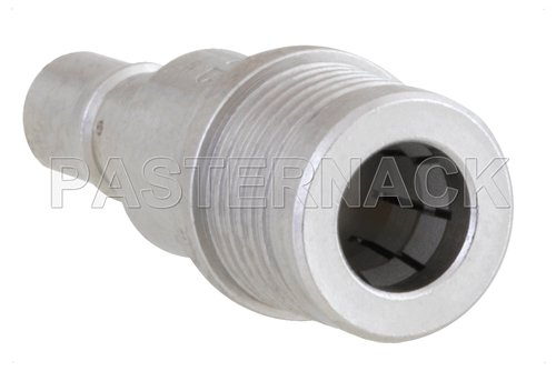 12 dB Fixed Attenuator, QMA Male to QMA Female Brass Tri-Metal Body Rated to 1 Watt Up to 6 GHz