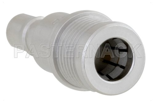 15 dB Fixed Attenuator, QMA Male to QMA Female Brass Tri-Metal Body Rated to 1 Watt Up to 6 GHz