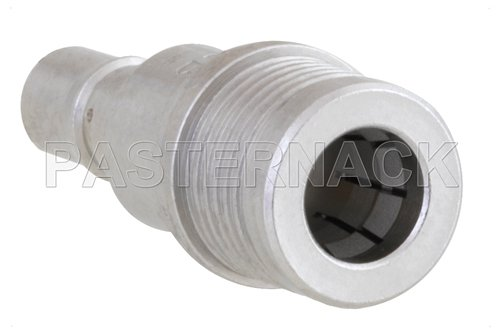 2 dB Fixed Attenuator, QMA Male to QMA Female Brass Tri-Metal Body Rated to 1 Watt Up to 6 GHz
