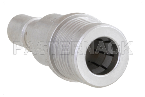 9 dB Fixed Attenuator, QMA Male to QMA Female Brass Tri-Metal Body Rated to 1 Watt Up to 6 GHz