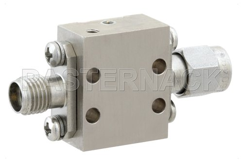 High Power Limiter, Field Replaceable 2.92mm, 100W Peak Power, 15 us Recovery, 13 dBm Flat Leakage, 26.5 GHz to 40 GHz