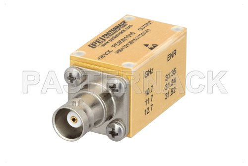 50 Ohm Calibrated Noise Source w/ Isolator 30-35 dB High Output ENR, Connectorized
