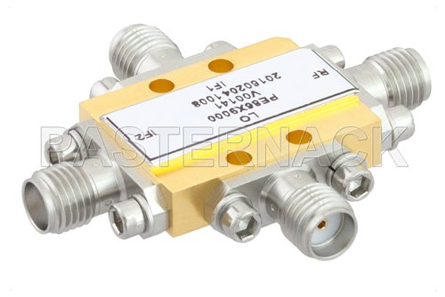 IQ Mixer Operating From 4 GHz to 8.5 GHz With an IF Range From DC to 3.5 GHz And LO Power of +15 dBm, Field Replaceable SMA