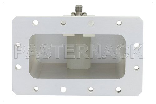 WR-284 CMR-284 Flange to SMA Female Waveguide to Coax Adapter Operating From 2.6 GHz to 3.95 GHz, S Band