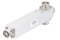 50 Ohm 3 Way 7/16 DIN Equal Tapper Optimized For Mobile Networks From 376 MHz to 2.2 GHz Rated at 500 Watts