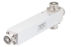 50 Ohm 3 Way 7/16 DIN Equal Tapper Optimized For Mobile Networks From 700 MHz to 2.7 GHz Rated at 500 Watts