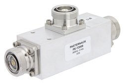 Low Loss 13 dB 7/16 DIN Unequal Tapper Optimized For Mobile Networks From 380 MHz to 6 GHz Rated To 300 Watts