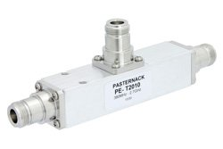 Low PIM 9 dB N Unequal Tapper Optimized For Mobile Networks From 350 MHz to 5.85 GHz Rated to 300 Watts