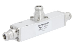 Low PIM 6 dB N Unequal Tapper Optimized For Mobile Networks From 350 MHz to 5.85 GHz Rated to 300 Watts
