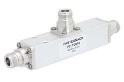 Low PIM 10 dB N Unequal Tapper Optimized For Mobile Networks From 350 MHz to 5.85 GHz Rated to 300 Watts