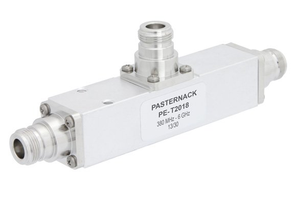 Low Loss 13 dB N Unequal Tapper Optimized For Mobile Networks From 380 MHz to 6 GHz Rated To 300 Watts
