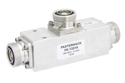 Low PIM 14 dB 7/16 DIN Unequal Tapper Optimized For Mobile Networks From 350 MHz to 5.85 GHz Rated to 300 Watts