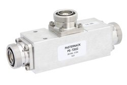Low PIM 12 dB 7/16 DIN Unequal Tapper Optimized For Mobile Networks From 350 MHz to 5.85 GHz Rated to 300 Watts