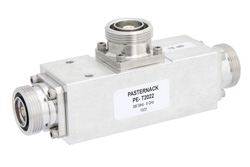 Low Loss 12 dB 7/16 DIN Unequal Tapper Optimized For Mobile Networks From 380 MHz to 6 GHz Rated To 300 Watts