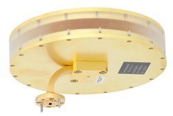 PE-W15A001 - WR-15 Waveguide Horn Antenna Operating From 58 GHz to 63 GHz With a Nominal 0 dBi Gain With UG-387/U Round Cover Flange