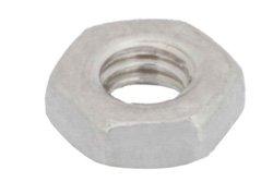 PE1007 - 3-56 Stainless Steel Nut in 100 Each Packages