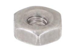 PE1008 - 4-40 Stainless Steel Nut in 100 Each Packages