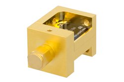 Waveguide Up Converter Mixer WR-28 From 26.5 GHz to 40 GHz, IF From DC to 18 GHz And LO Power of +13 dBm, UG-599/U Flange, Ka Band