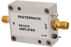 13 dBm P1dB, 10 MHz to 3 GHz, Gain Block Amplifier, 20 dB Gain, 2.7 dB NF, SMA