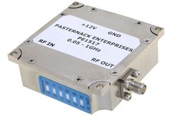12 dBm P1dB, 50 MHz to 1,000 MHz, Gain Block Amplifier, 21 dB Gain, 3.5 dB NF, SMA
