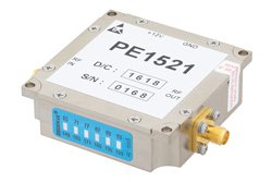 15 dBm P1dB, 2 GHz to 6 GHz, Gain Block Amplifier, 26 dB Gain, 3 dB NF, SMA