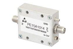 PE15A1014 - 36 dBm IP3, 18 dBm P1dB, 50 MHz to 1,000 MHz, Low Noise Amplifier, 19 dB Gain, SMA