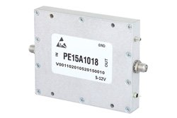 20 dBm P1dB, 500 MHz to 3 GHz, Low Noise Amplifier, 29 dB Gain, SMA