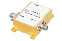34 dBm IP3, 4.5 dB NF, 22 dBm Psat, 6 GHz to 12 GHz, Low Phase Noise Amplifier 11 dB Gain, SMA