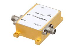 33 dBm IP3, 6 dB NF, 25 dBm Psat, 7 GHz to 11 GHz, Low Phase Noise Amplifier 9 dB Gain, SMA