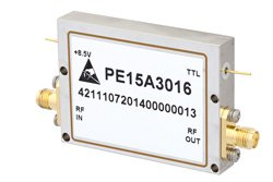 900 mW P1dB, 2 GHz to 8 GHz, Medium Power Broadband Amplifier, 33 dB Gain, SMA