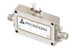 20 dBm Psat 1 GHz to 18 GHz Medium Power Broadband Amplifier 30 dB Gain SMA
