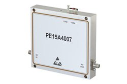 4 Watt P1dB, 8.5 GHz to 11 GHz, High Power GaAs Amplifier, SMA Input, SMA Output, 30 dB Gain, 45 dBm IP3, 5 dB NF