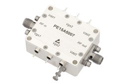 8 Watt Psat, 2.6 GHz to 4.2 GHz, High Power Amplifier, GaAs, 19 dB Gain, 47 dBm IP3, 9 dB NF, SMA