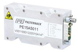 PE15A5011 - 43 dB Gain, 10 Watt Psat, 30 MHz to 2.5 GHz, High Power GaN Amplifier, SMA