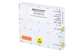 PE15A5032 - 48 dB Gain, 50 Watt Psat, 500 MHz to 3 GHz, High Power GaN Amplifier, SMA Input, SMA Output, 52 dBm IP3, Class AB