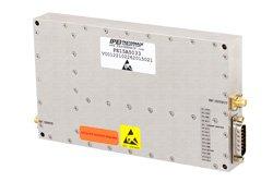 PE15A5033 - 45 dB Gain, 100 Watt Psat, 700 MHz to 2.7 GHz, High Power GaN Amplifier, SMA Input, SMA Output, Class A/AB
