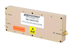 8 Watt Psat, 2 GHz to 4 GHz, High Power Amplifier Class A/AB, GaAs, 39 dB Gain, 48 dBm IP3, SMA