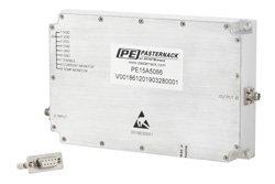 43 dB Gain, 20 Watt Psat, 2 GHz to 6 GHz, High Power GaN Amplifier, SMA, Class AB