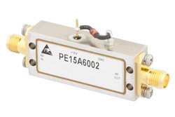 60 dB Gain, 19 dBm Psat, 1 GHz to 2 GHz, Limiting Amplifier, -40 to 10 dBm Pin, SMA