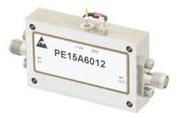 40 dB Gain, 19 dBm Psat, 6 GHz to 18 GHz, Limiting Amplifier, -20 to 20 dBm Pin, SMA