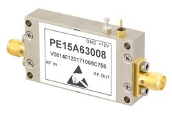 1.2 dB NF, 10 dBm P1dB, 2.6 GHz to 3.1 GHz, Input Protected Low Noise Amplifier, 30 dB Gain, SMA