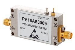 40 dB Gain, 1.2 dB NF, 10 dBm P1dB, 2.6 GHz to 3.1 GHz, Input Protected Low Noise Amplifier, SMA