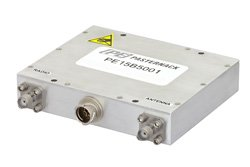High Power Bi-Directional Amplifier, 5/20 Watts, 1.35 GHz to 1.39 GHz, 1 us switching, 22 dB Gain, SMA